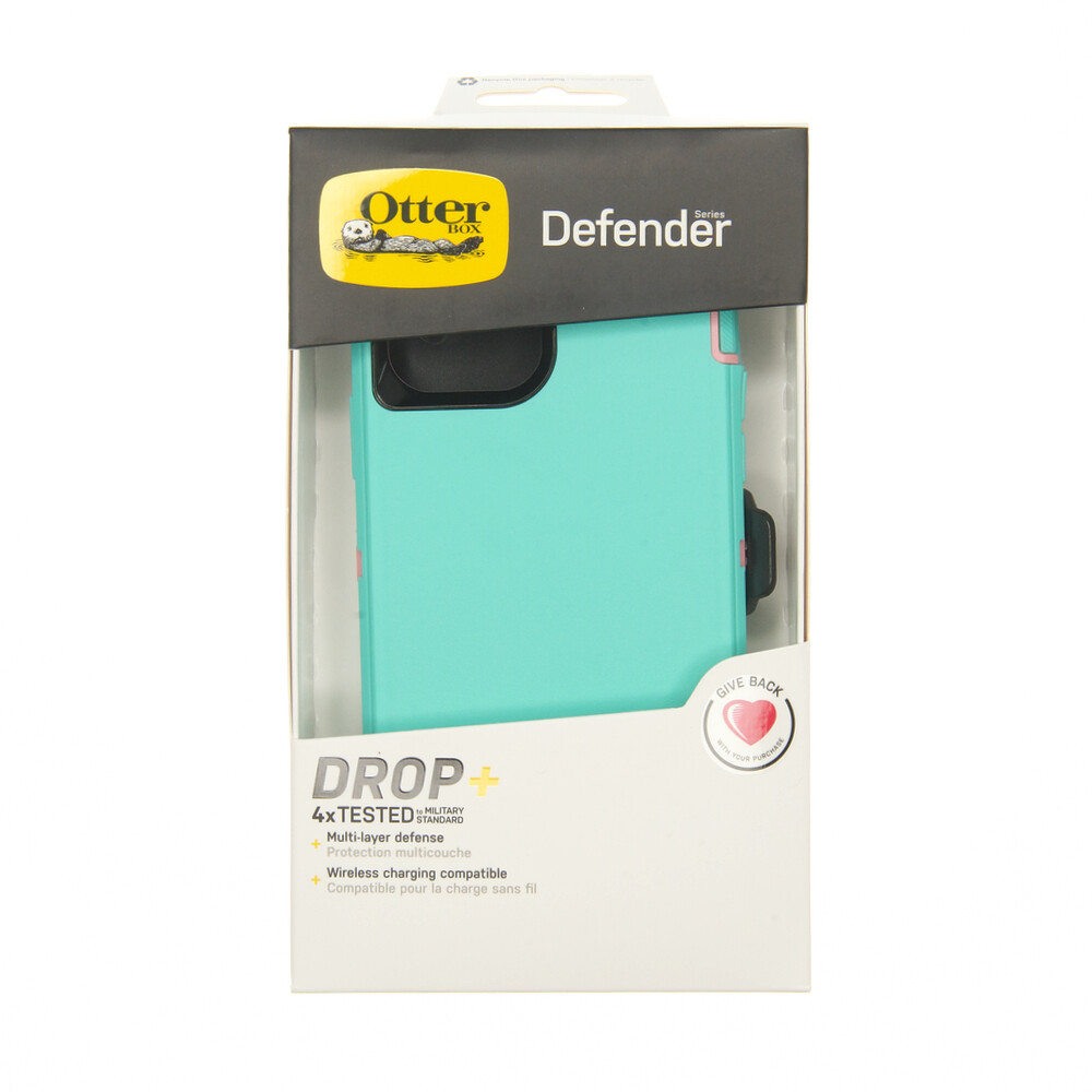 Estuche OTTERBOX Defender Menta / Rosado - IPHONE 12 PRO MAX 6.7