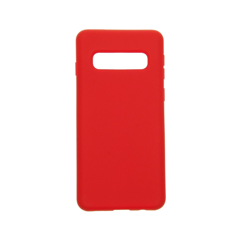 Estuche EL REY Silicon  Rojo  - S10 Plus