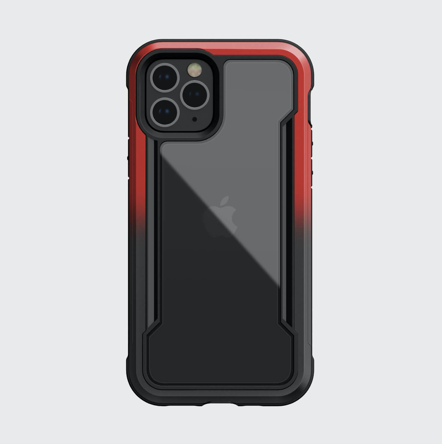 Estuche XDORIA Raptic Shield Negro / Rojo - IPHONE 12 PRO MAX 6.7