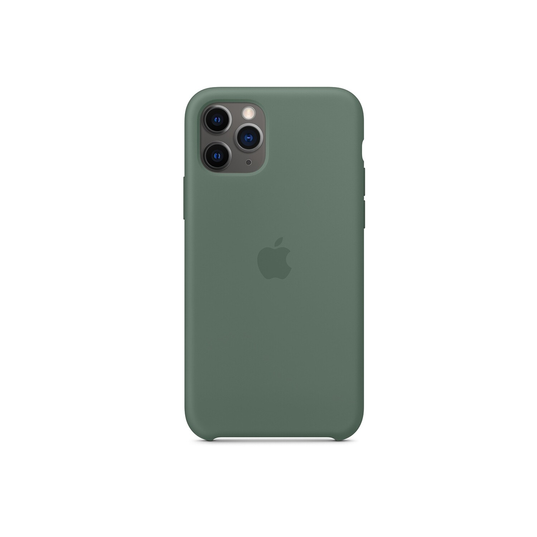 Estuche APPLE Original Silicon   Verde  (Pine Green) IPHONE 11 PRO (5.8)