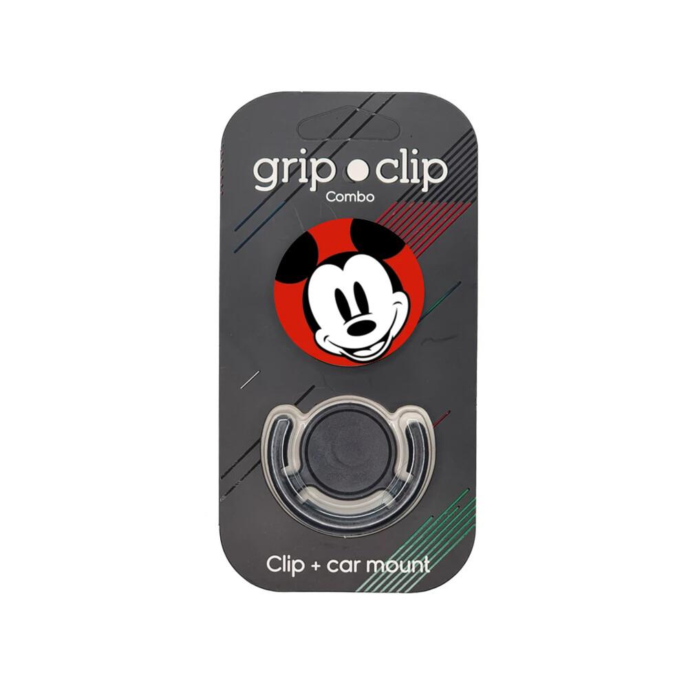 GRIP CLIP Mickey - cara rojo