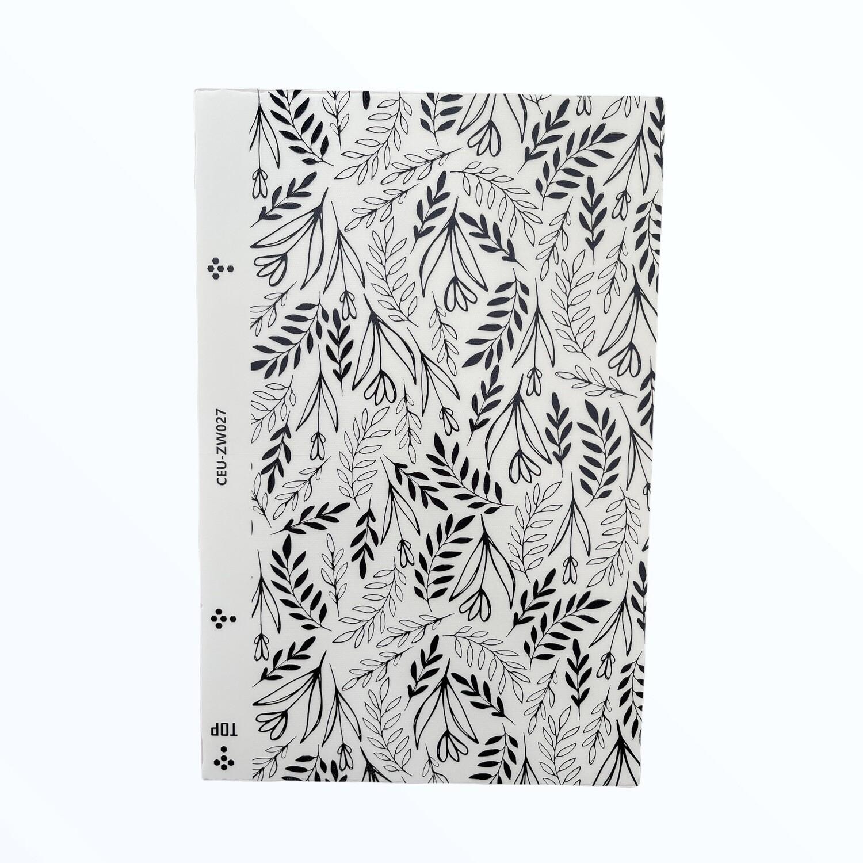 LENSUN Deluxe hojas plantas - NEGRO