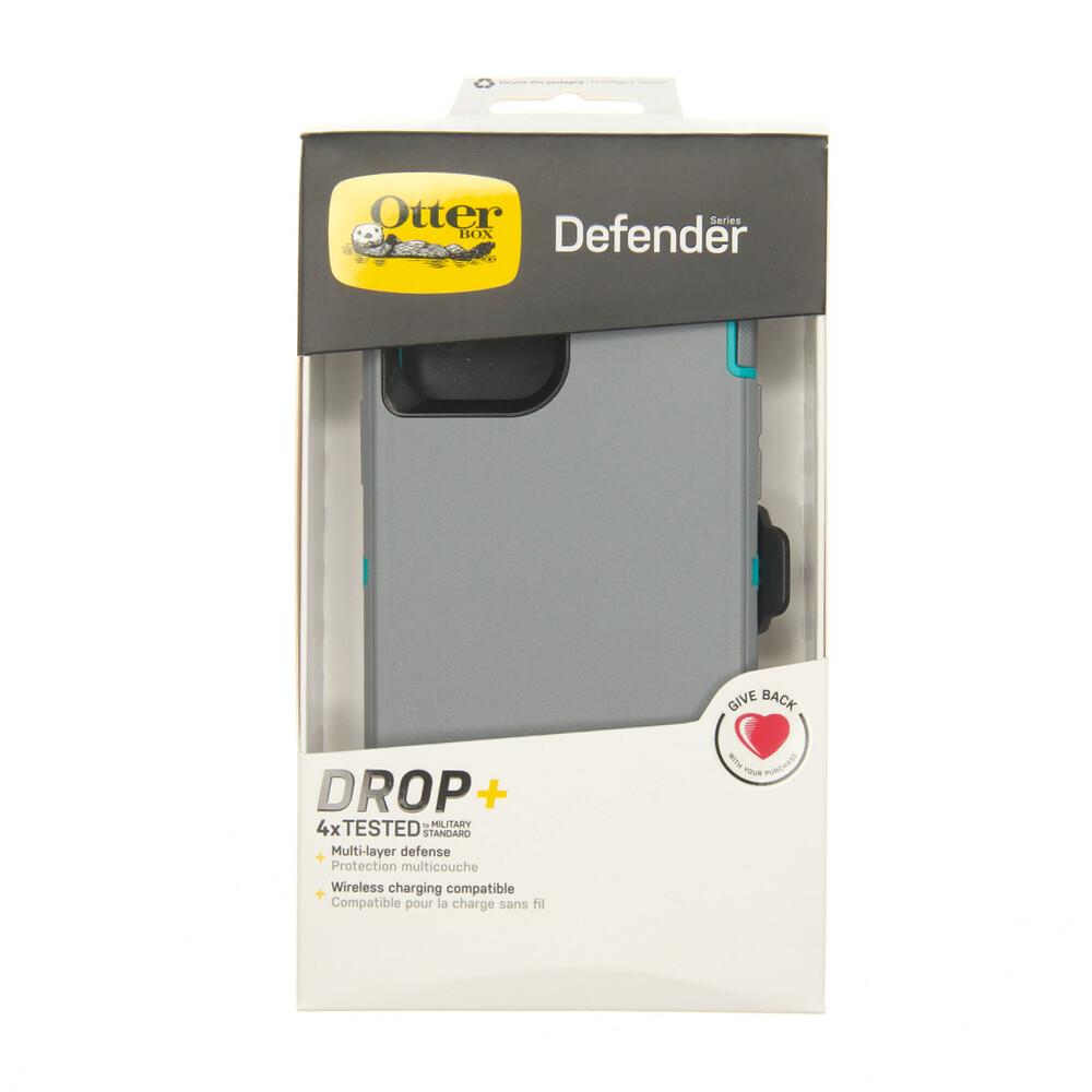 Estuche OTTERBOX Defender Gris / Menta - IPHONE 12 PRO MAX 6.7