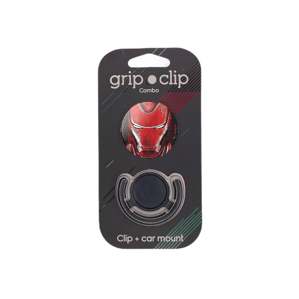 GRIP CLIP Cara iron man