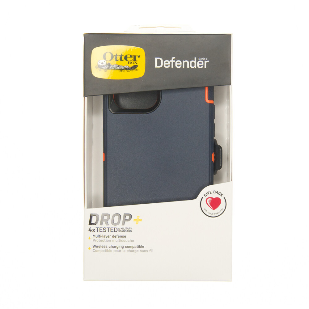 Estuche OTTERBOX Defender Azul / Naranja IPHONE 12 PRO MAX 6.7