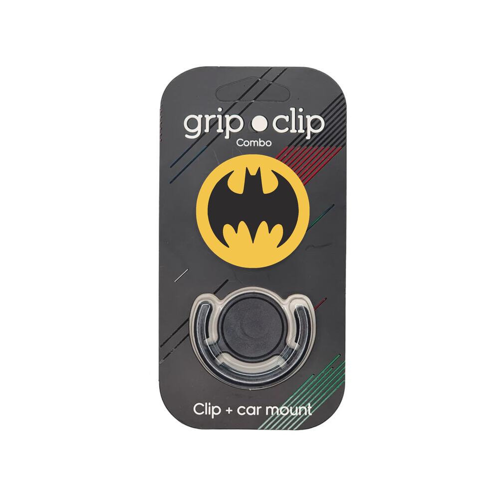 GRIP CLIP Batman Fondo amarillo