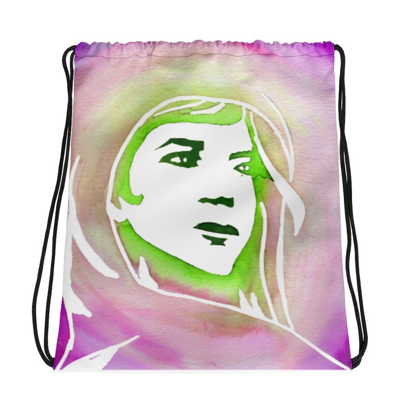 Chiti's Solace Drawstring Bag