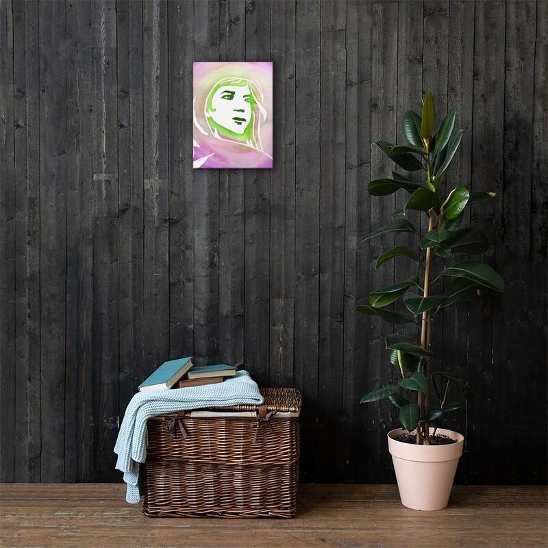 Chiti's Solace Canvas Print