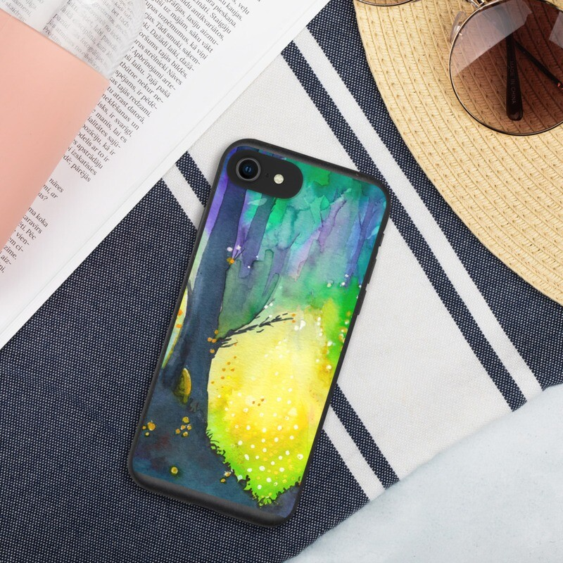 Travel by Gourdlight Biodegradable Phone Case