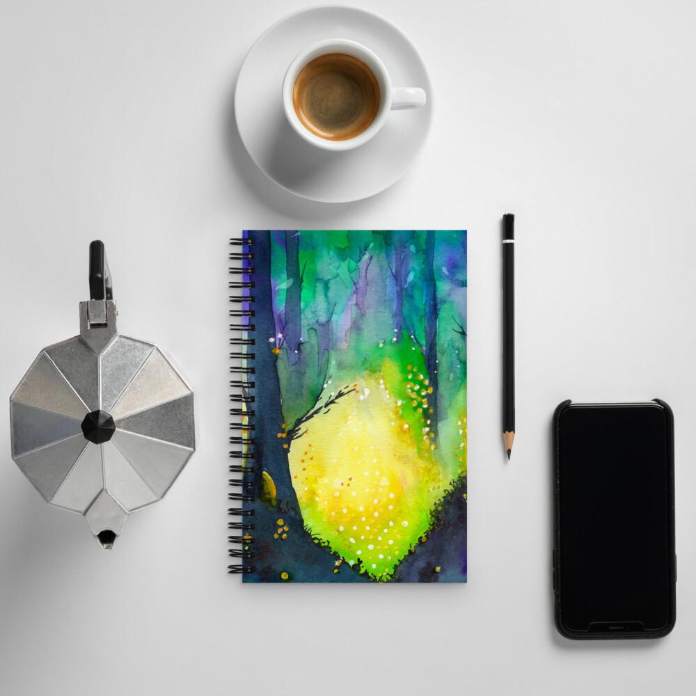 Travel by Gourdlight Spiral Notebook