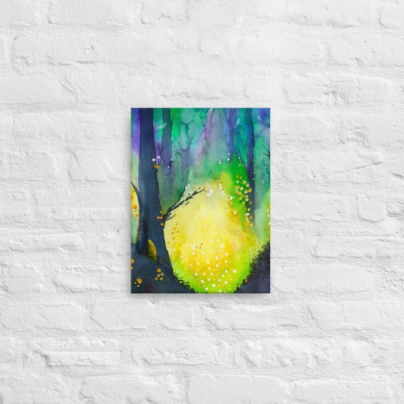 Travel by Gourdlight Printed Canvas