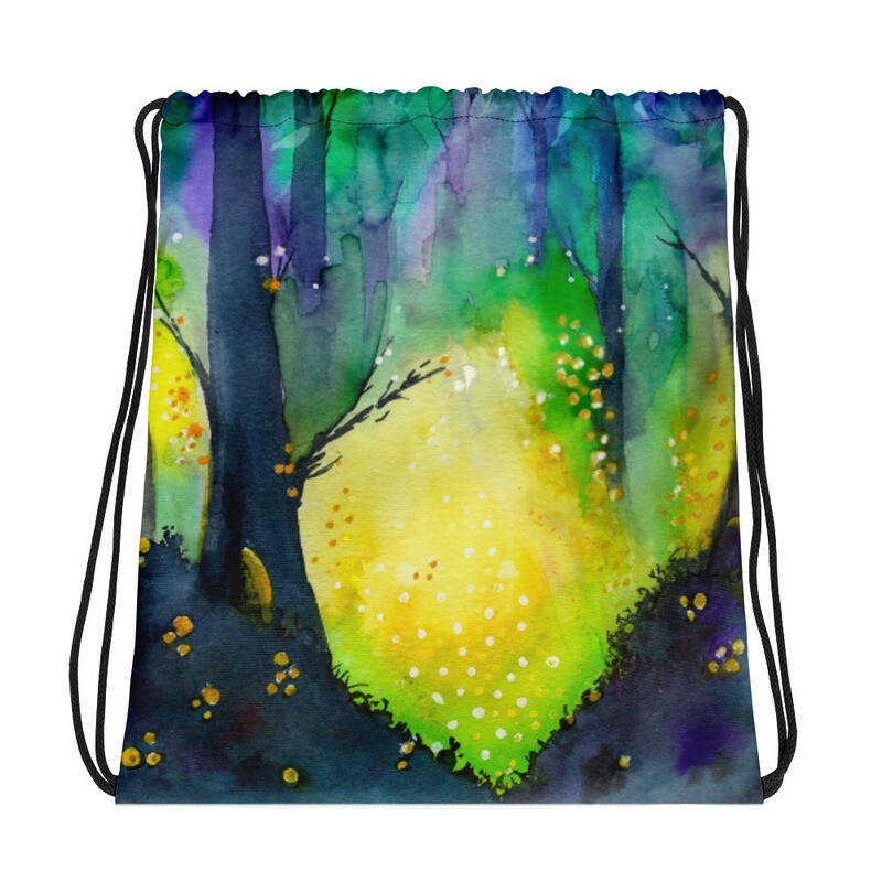Travel by Gourdlight Drawstring Project Bag