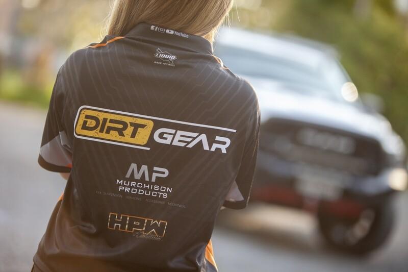 Womens Legends Dirt Gear Sponsor Shirt