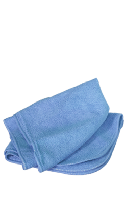 10x High Quality Microfibre Cloths