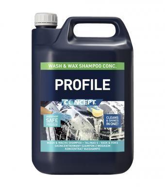Profile Wash & Wax 5ltr