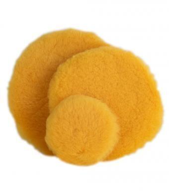 Gold 5inch Micro Wool Cutting Pad Single