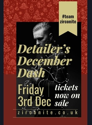 Detailer's Dash 3rd December Ticket for 1