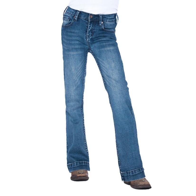 Cowgirl Tuff Girl's Medium Trouser Jeans