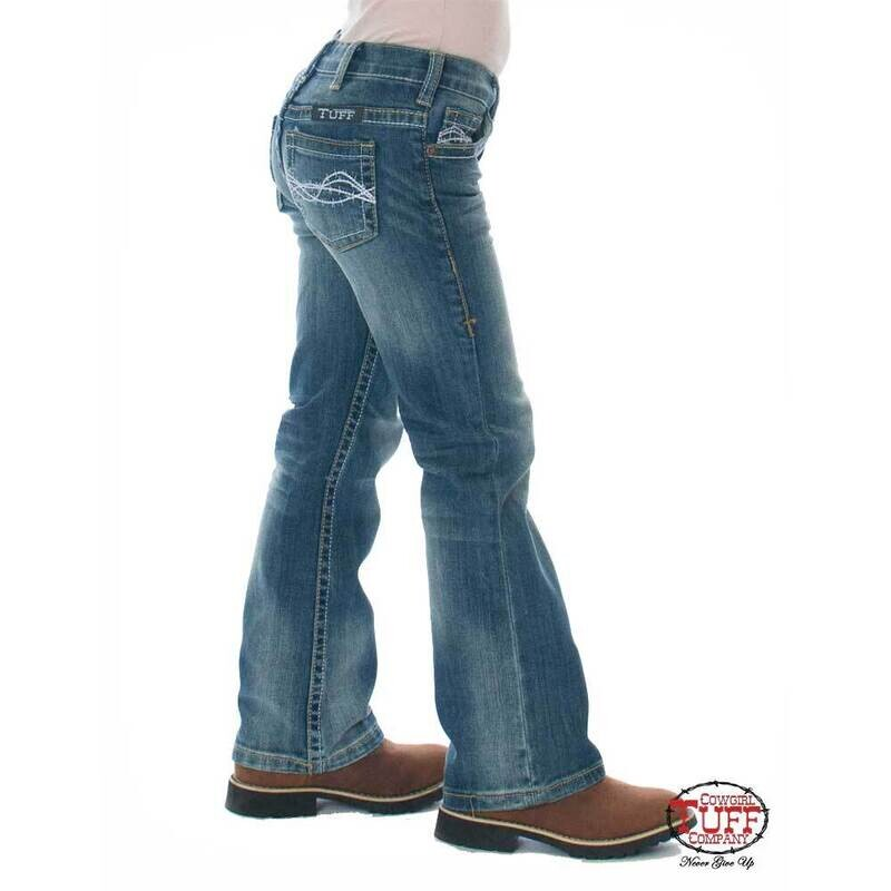 Girl's Don't Fence Me in Jeans
