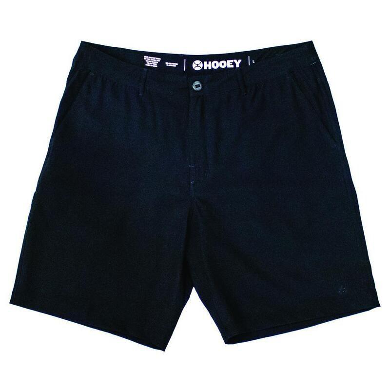 """Hooey """"Hybrid"""" Black Shorts"""