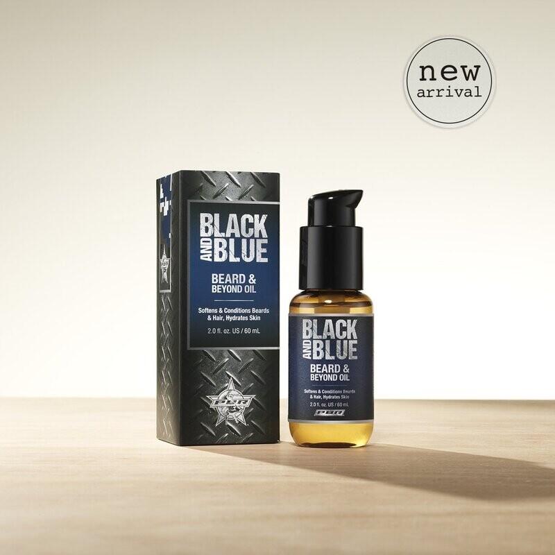 BLACK & BLUE BEARD OIL