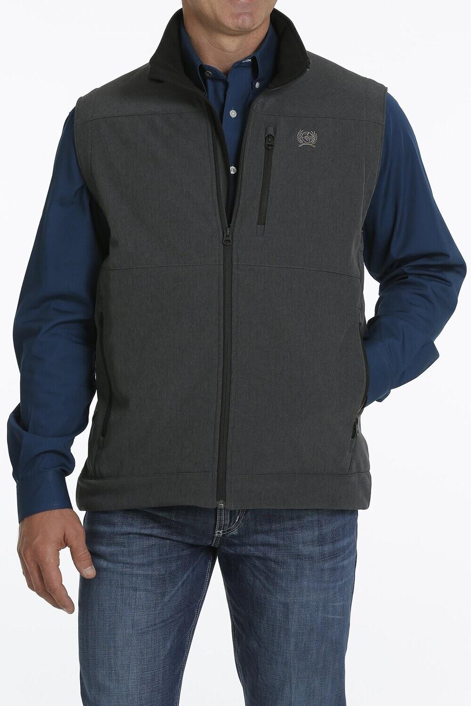 Cinch Men's Concealed Carry Vest - Textured Black