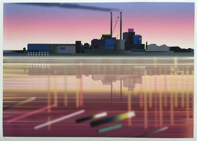 'Refinery (Tate & Lyle)' Archival Print