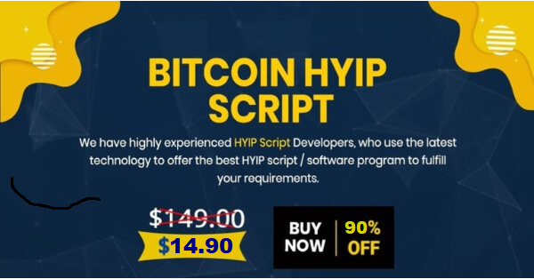 Bitcoin Generator Hyip Script $14.90