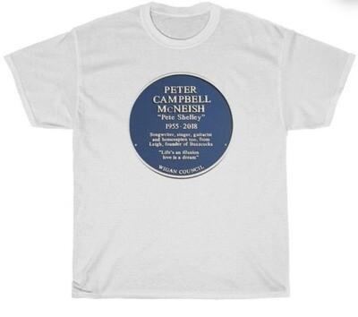 Peter Campbell McNeish Blue Plaque T Shirt