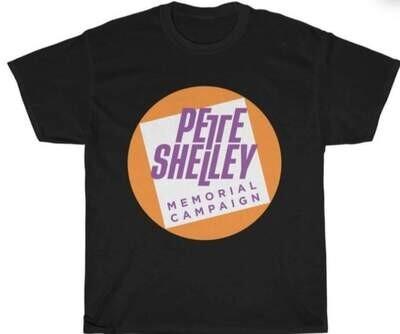 Pete Shelley Memorial Campaign logo T Shirt