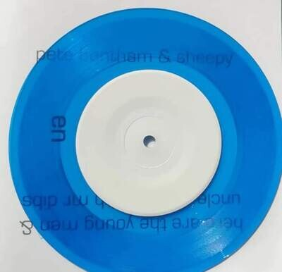 Homosapien 7 Inch Blue Vinyl Single