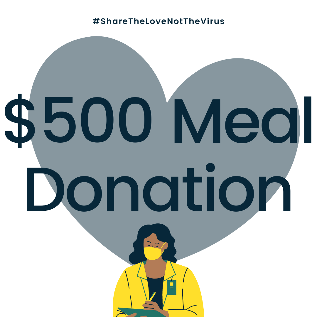 $500 MEAL DONATION