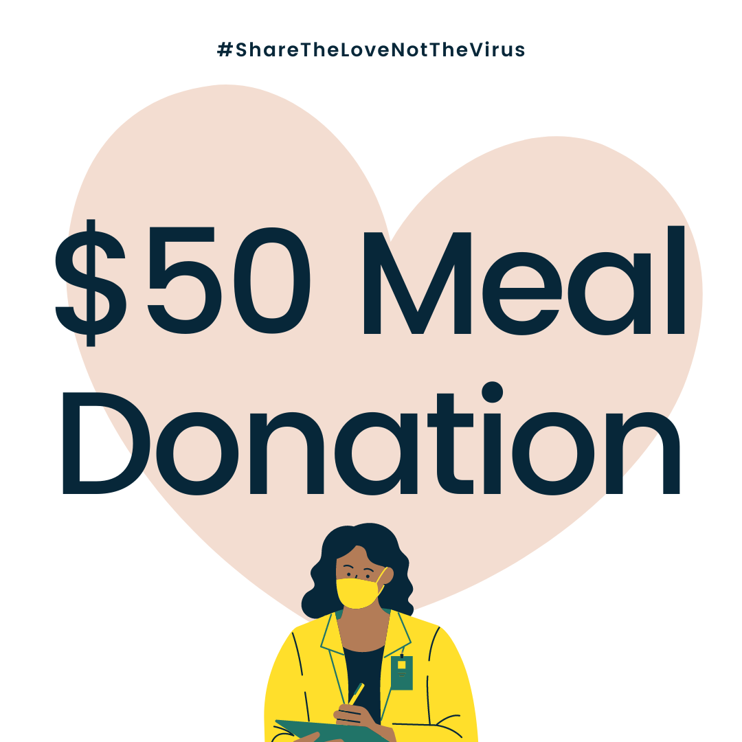 $50 MEAL DONATION