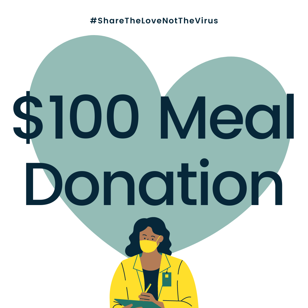 $100 MEAL DONATION