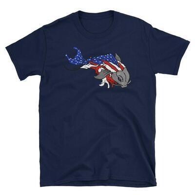 """""""Liberty Koi"""" in Ameriflage"""
