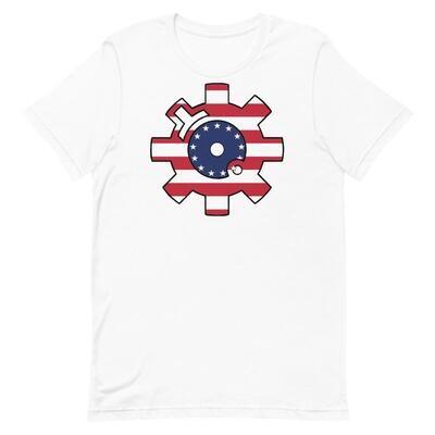 Betsy Ross Bolt Face T Shirt