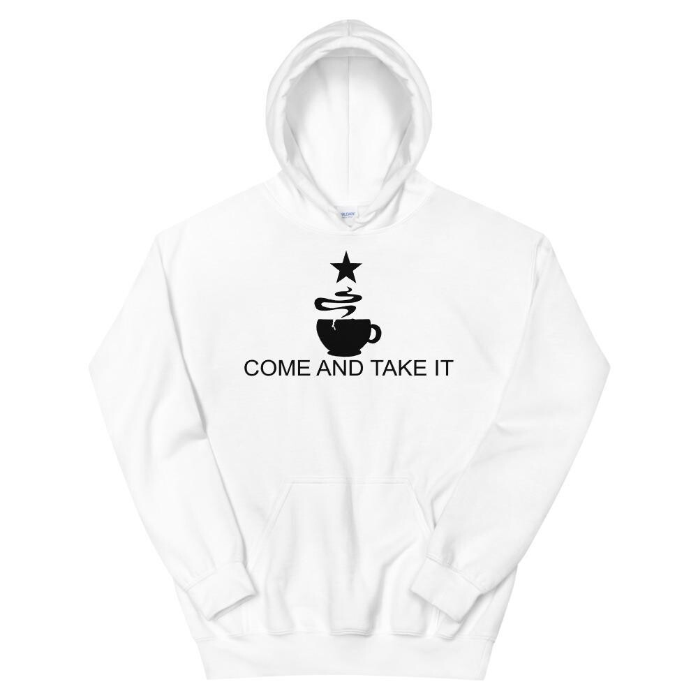 Come And Take It Flag - Coffee Hoodie
