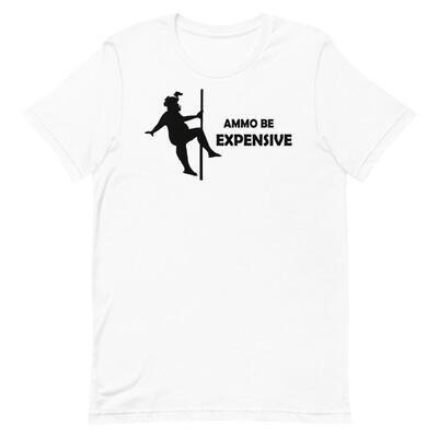 Dancing For Ammo - Black Lettering T Shirt