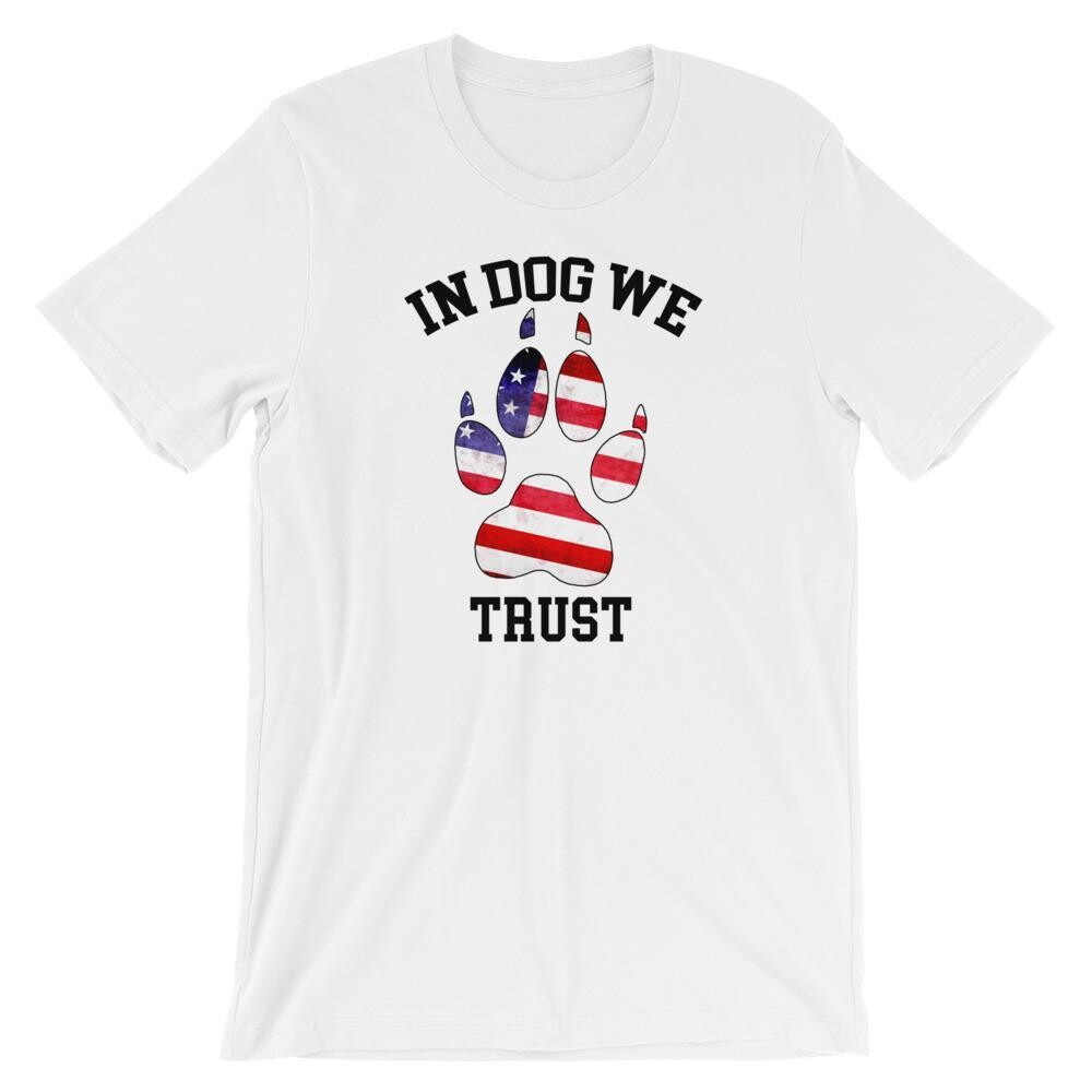 In Dog We Trust - The American Version T Shirt