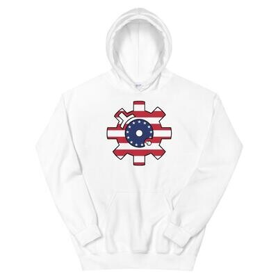 Betsy Ross Bolt Face Hoodie