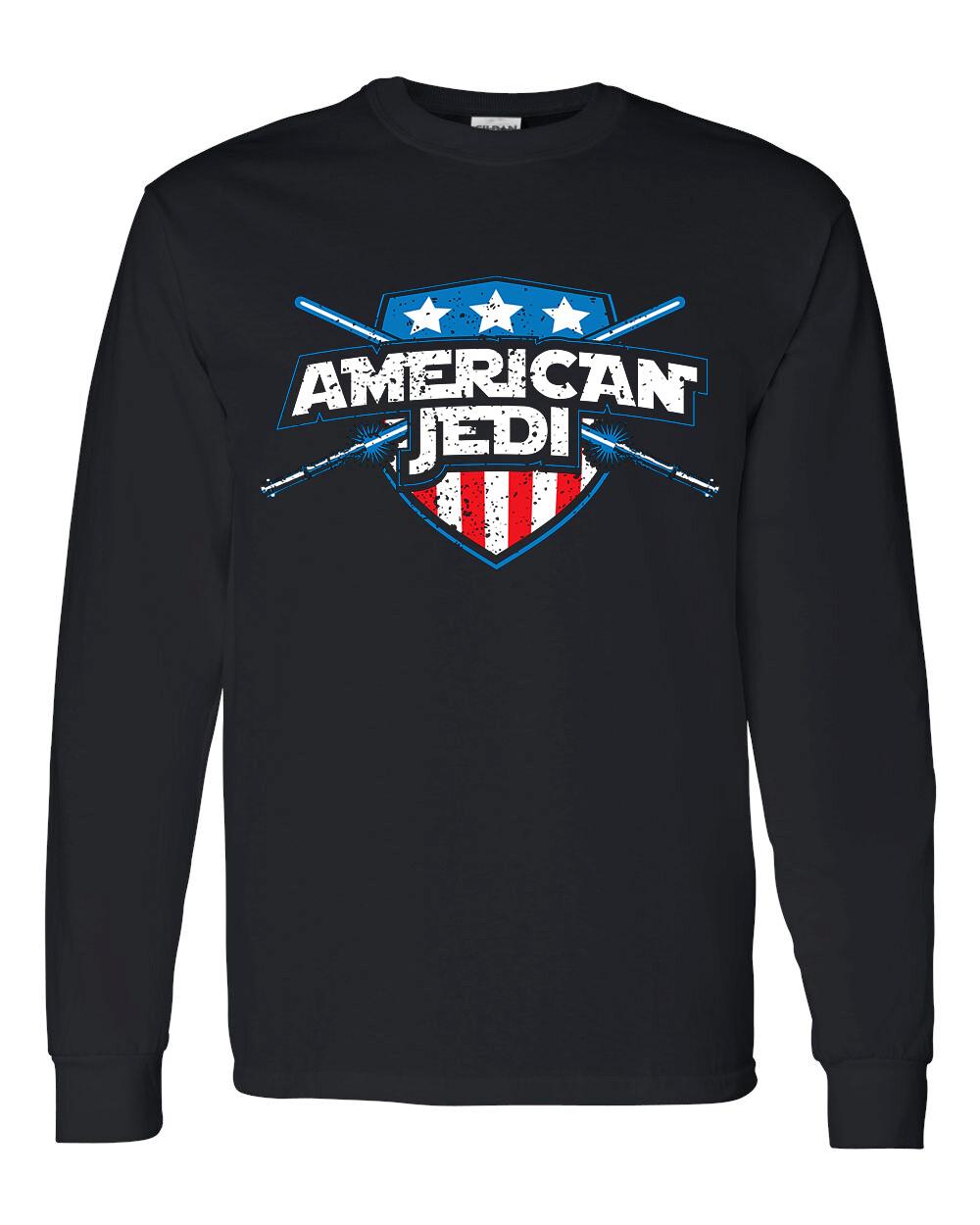 American Jedi Long Sleeve T Shirt