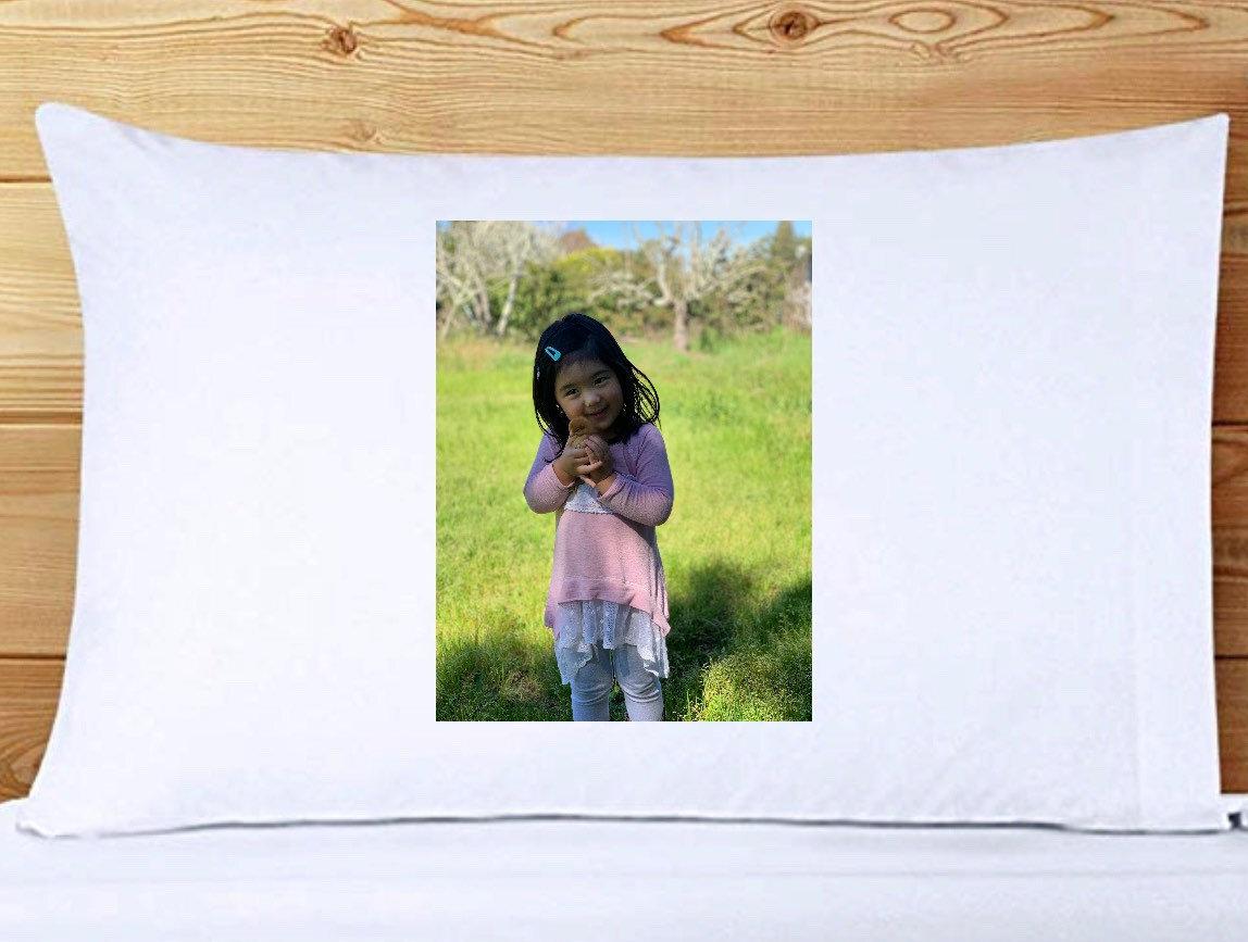 Custom Photo Pillowcase - FREE Second Side decorating!!