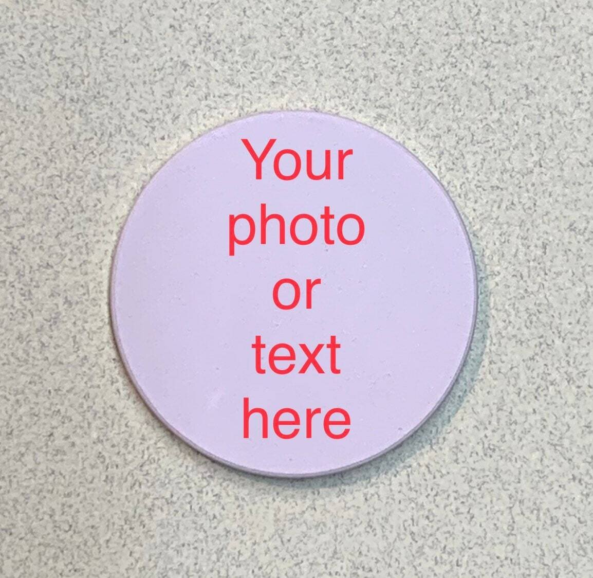 Custom photo coin - challenge coin - 2 sided!