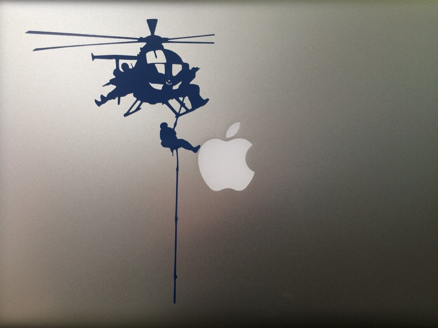 Special Forces Decal for MacBook - Fast Rope from Little Bird