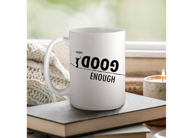 Official HowNot2Highline Super Doog Enough Coffee Mug - 11oz or 15oz