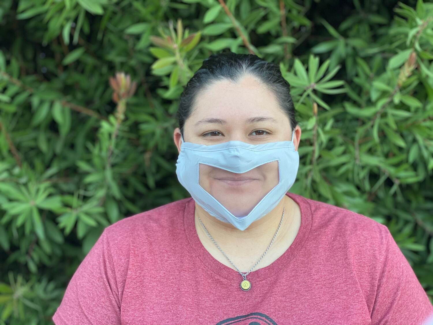 Clear adjustable face mask - Adult or Child Sized
