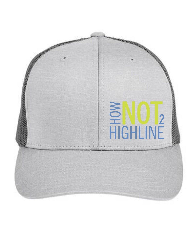 How Not To Highline Official HNTHL Logo Hat! Ryan Jenks, Super Good Enough!