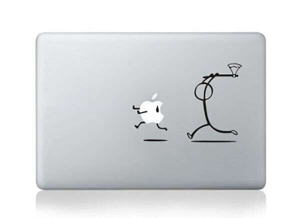 MacBook Pro Air Give Chase Decal Fun Cute