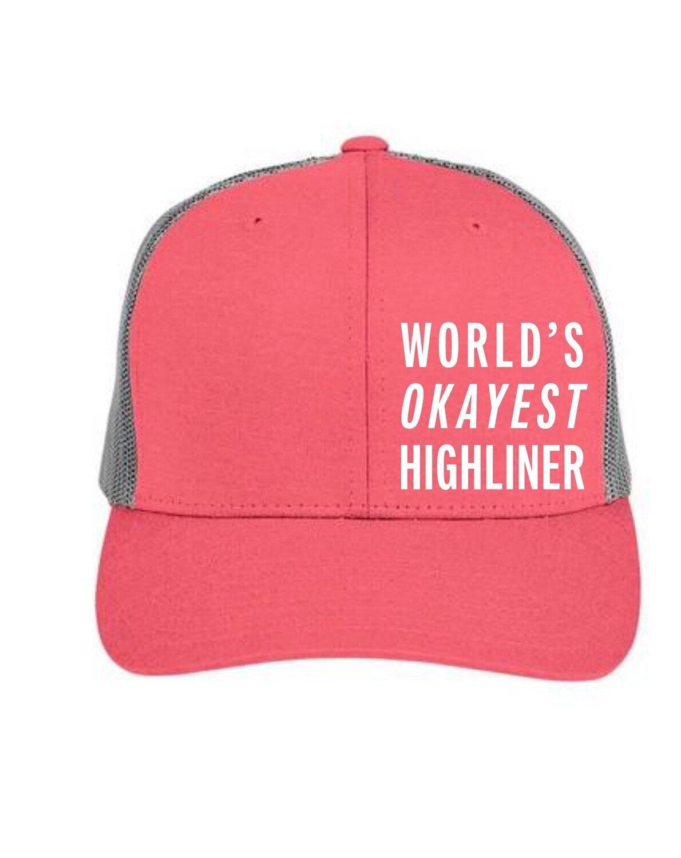 How Not To Highline Official Hat! Worlds Okayest Highliner , Ryan Jenks, Super Good Enough!