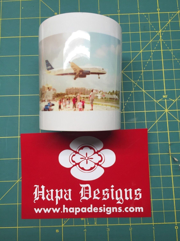 Custom photo coffee mug